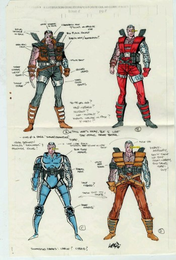 Cable_by_Liefeld_Marvel Comics