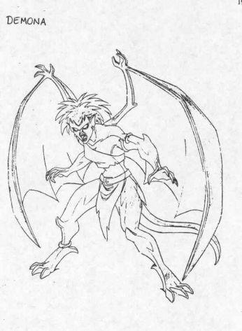 PIPOCA COM BACON - Séries: Gargulas(Gargoyles – Disney) - #PipocaComBacon