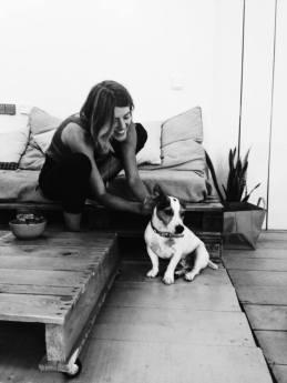 nina-and-dog