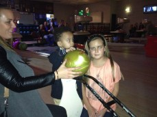 Teaching Amiyus to bowl