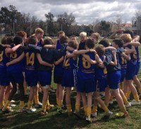 The victorious St Joseph's Footy Team