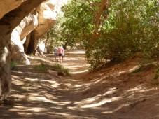 Walking through Windjana Gorge