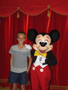 Patrick & Mickey Mouse