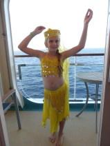 A Turkish Belly Dancer