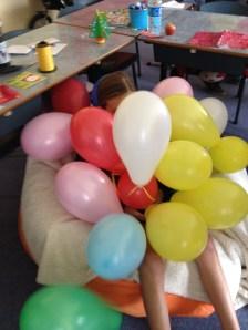 A Ballon Greeting Back to School