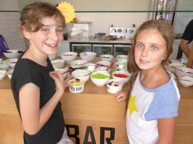 Frozen Yoghurt Bar