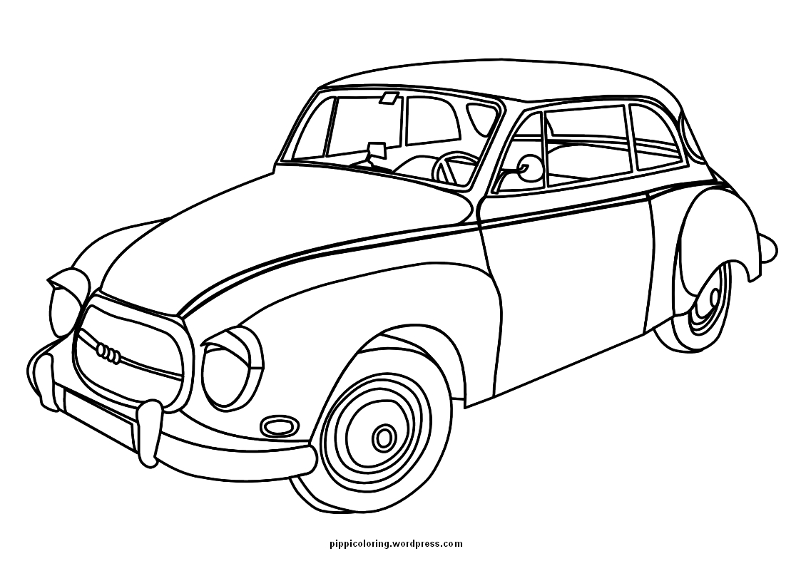 free printable coloring pages of old cars cooloring com