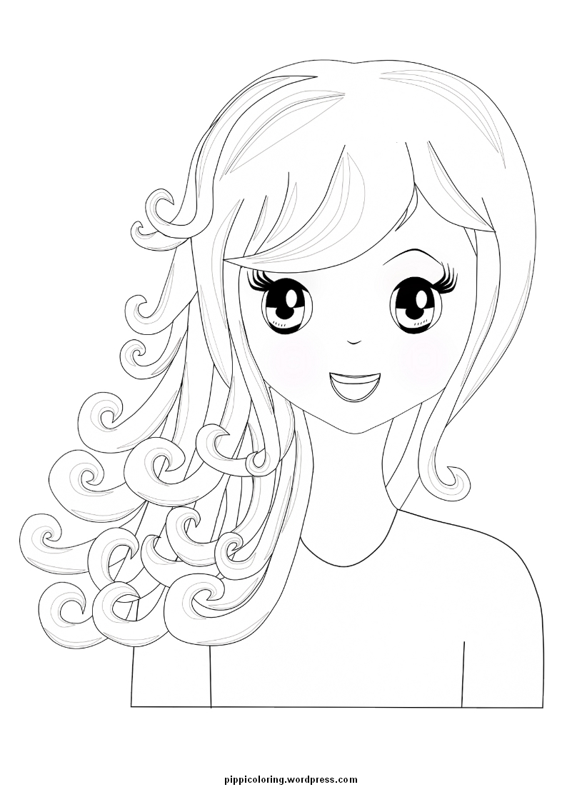 girl coloring pages cooloring com