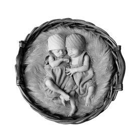 nyfødt-tvillinger
