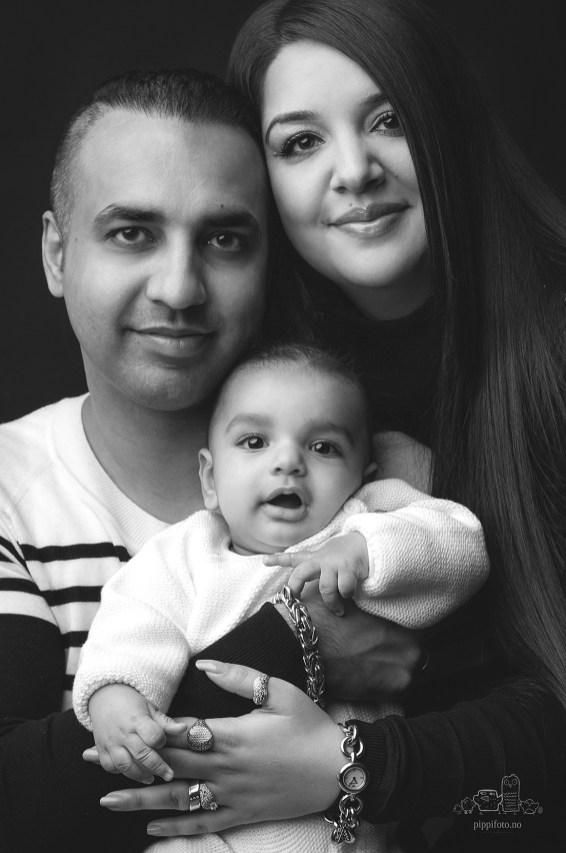 familiebilder, sort-hvitt bilder
