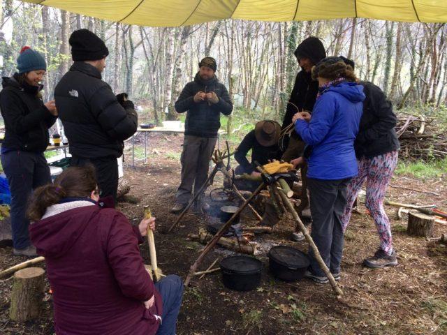 Weekend Bushcraft Course - Around the fire
