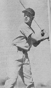 """Bob """"Lefty"""" Garretson in 1937."""