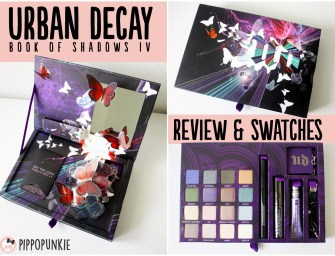 Review & Swatches: Urban Decay Book of Shadows IV
