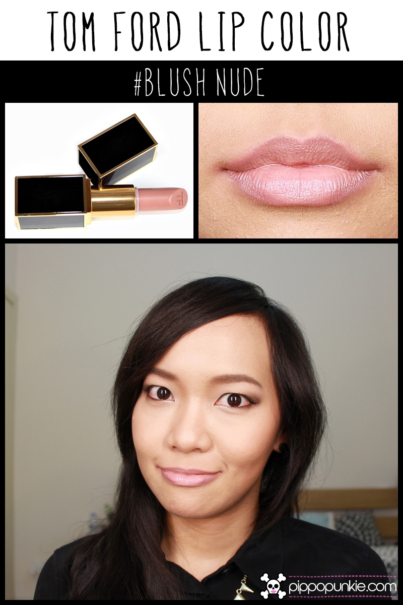 Tom Ford Lip Color Review & Swatches สี Blush Nude