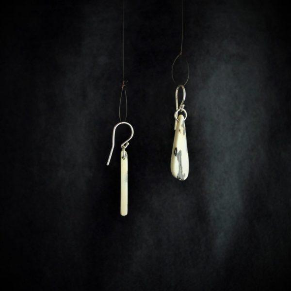 boucle d'oreilles gouttes drop earrings