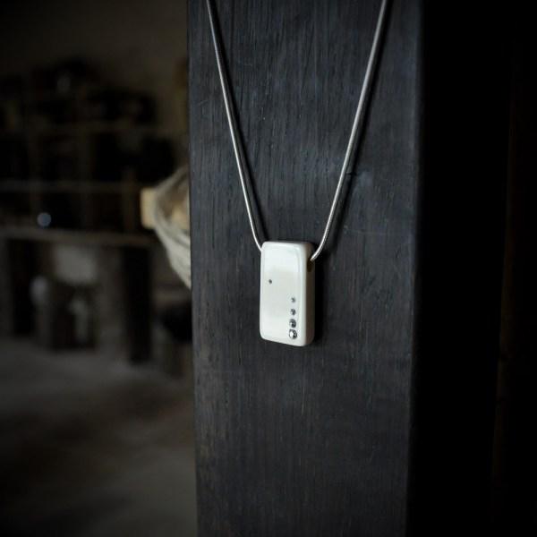 bijou en ivoire de mammouth collier artisanal ivory jewelry necklace