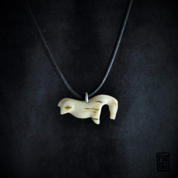 sculpture cheval horse vogelherd reproduction mammoth ivory