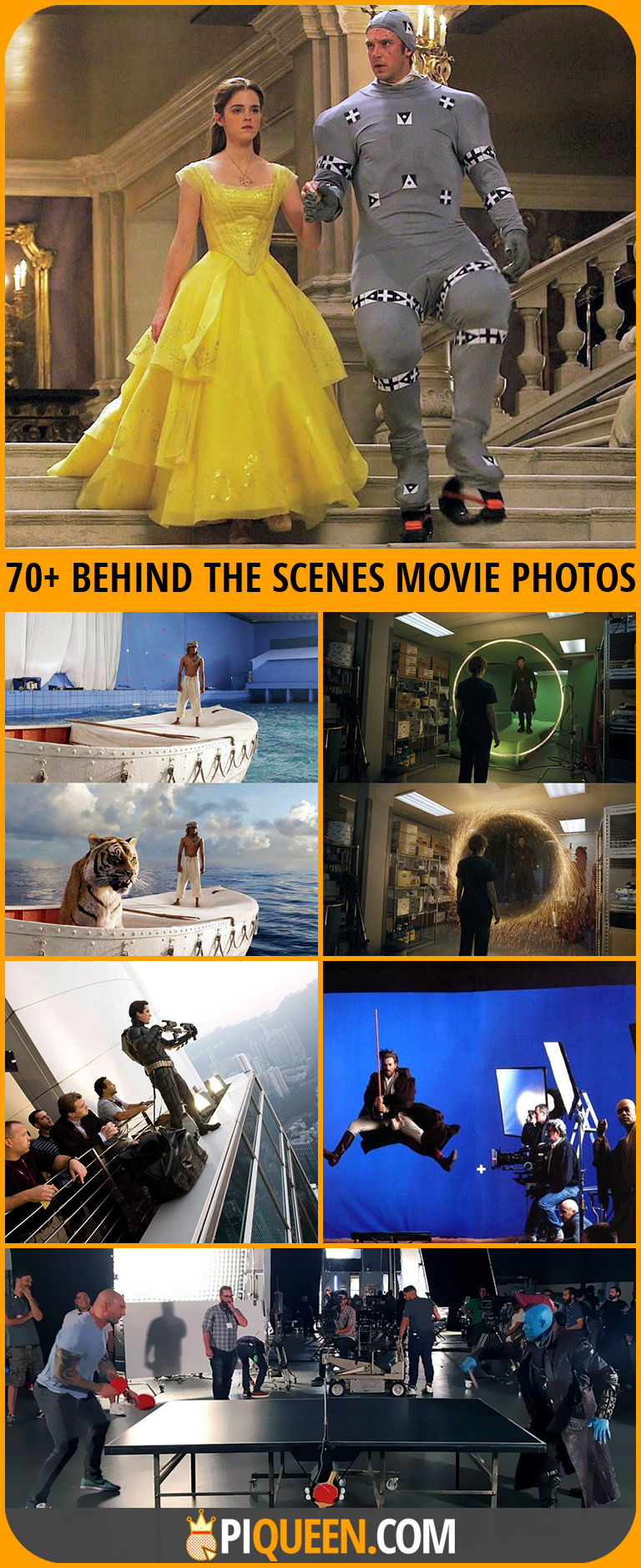 70 Awesome Behind The Scene Photos From Iconic Movies