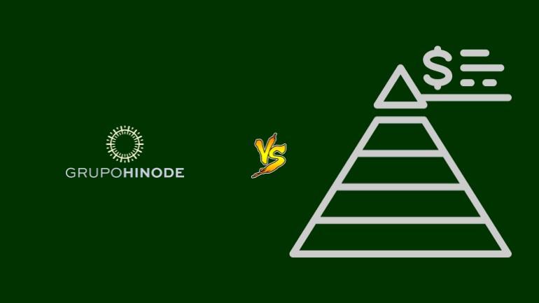 Hinode Pirâmide Financeira Scam Ponzi Fraude Confiavel Furada - Versus