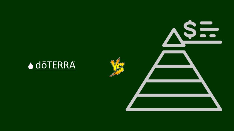 dōTerra Pirâmide Financeira Scam Ponzi Fraude Confiavel Furada - Versus