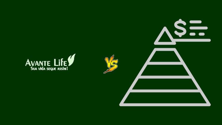 Avante Life Pirâmide Financeira Scam Ponzi Fraude Confiavel Furada - Versus