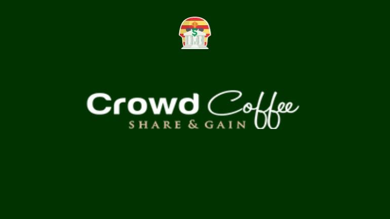 Crowd Coffee Pirâmide Financeira Scam Ponzi Fraude Confiavel Furada - Destaque
