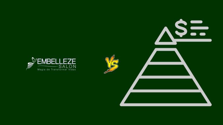 Embelleze Salon Pirâmide Financeira Scam Ponzi Fraude Confiavel Furada - Versus