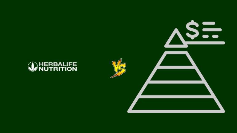 Herbalife Pirâmide Financeira Scam Ponzi Fraude Confiavel Furada - Versus