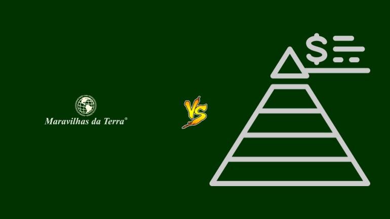 Maravilhas da Terra Pirâmide Financeira Scam Ponzi Fraude Confiavel Furada - Versus