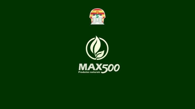 Max500 Pirâmide Financeira Scam Ponzi Fraude Confiavel Furada - Destaque