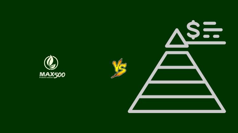 Max500 Pirâmide Financeira Scam Ponzi Fraude Confiavel Furada - Versus