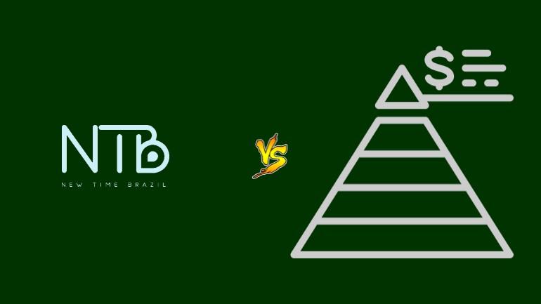 NTB New Time Brazil Pirâmide Financeira Scam Ponzi Fraude Confiavel Furada - Versus