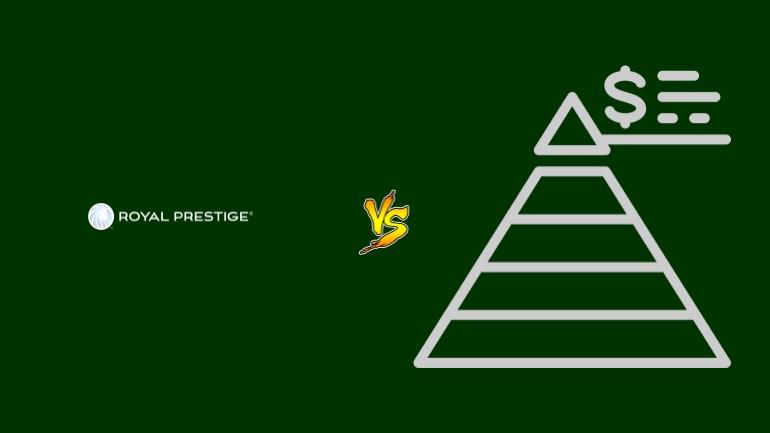 Royal Prestige Pirâmide Financeira Scam Ponzi Fraude Confiavel Furada - Versus