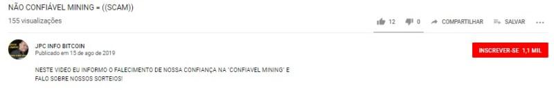 confiável mining parou pagar caiu furada golpe