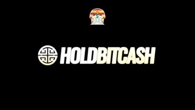 Hold Bit Cach Pirâmide Financeira Scam Ponzi Fraude Confiavel Furada