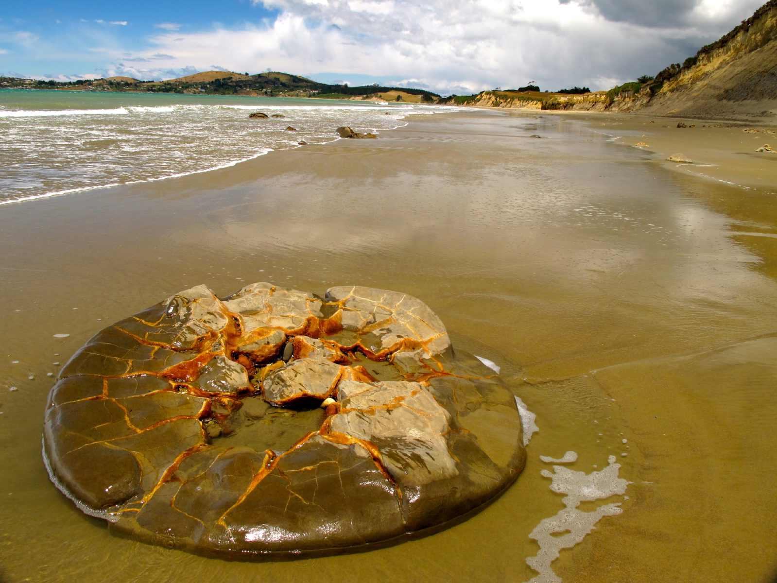 le sfere di pietra moeraki la loro misteriosa formazione il conte