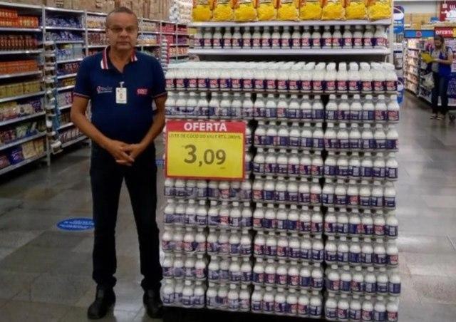 Uma foto de Manoel Moisés Cavalcante que tinha 59 anos e atuava como promotor de vendas