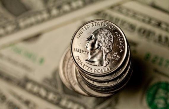 uma foto das cédulas do dólar desta sexta-feira 25-09-2020