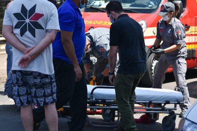 Atropelamento de morador de rua mobiliza bombeiros do Resgate, em Piracicaba