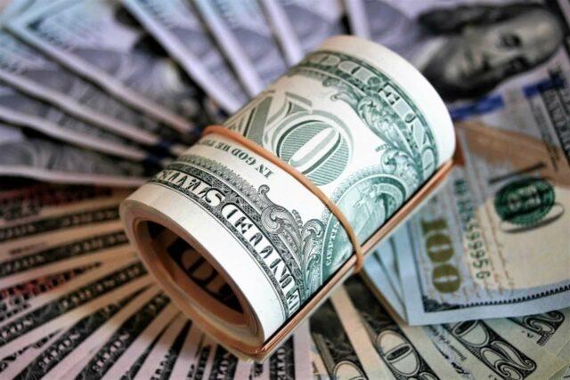 uma foto da cédula do dólar desta segunda-feira 21-09-2020
