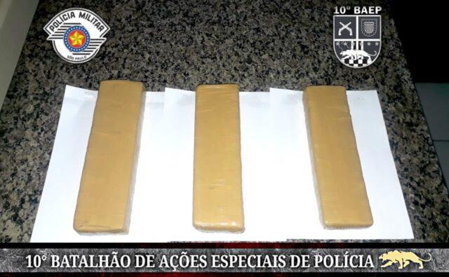 Em Piracicaba, BAEP prende indivíduo que vendia drogas na Favela do Cantagalo