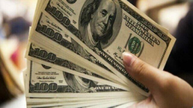 uma foto da cédula do dólar para cotação -desta-segunda-feira-19-10-2020