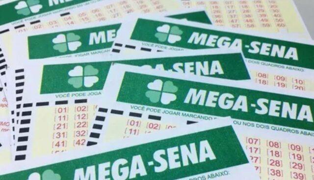 uma foto do volante da mega-sena-2308 desta quarta 14-10-2020
