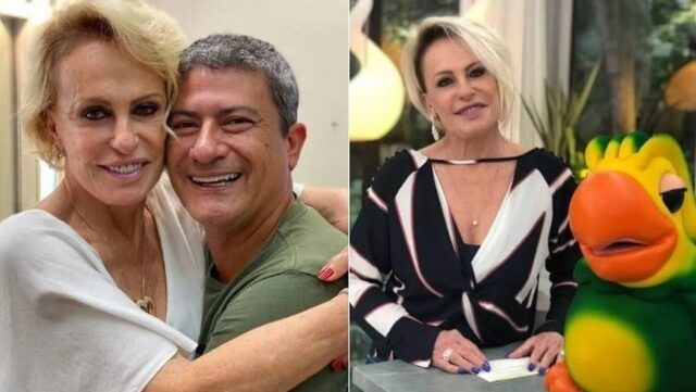 Uma foto de Tom Veiga e Ana Maria Braga