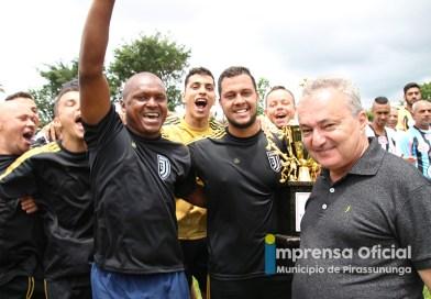 Amigos Nota 10 é campeão da Segundona do Varzeano