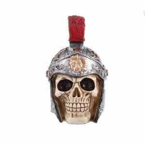 Centurion skull statue