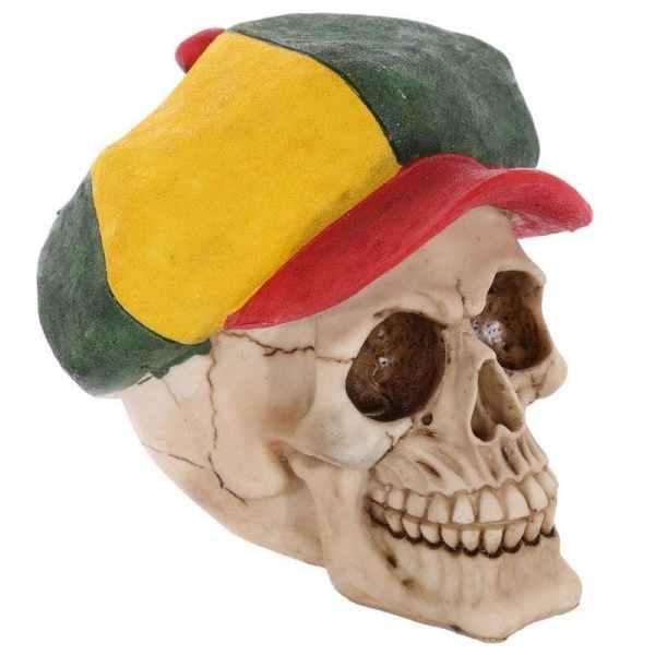 Rasta skull detail
