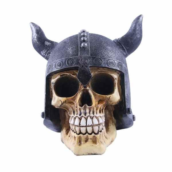Viking skull decor