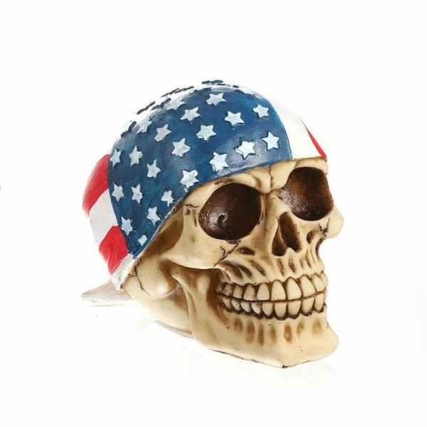American Skull Head
