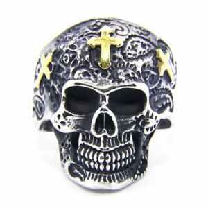 Sugar Skull Men's Ring